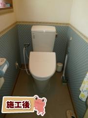 INAX トイレ TSET-AZ10-IVO-0 施工後