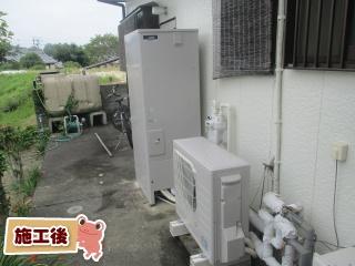 三菱 エコキュート SRT-N374-VR-FC 施工後