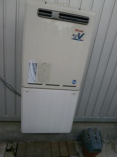 ノーリツ ガス給湯器 BSET-N4-056-13A-20A 施工前