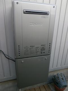 ノーリツ ガス給湯器 BSET-N4-056-13A-20A 施工後