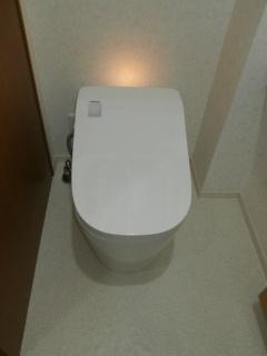 パナソニック トイレ TSET-AU1-WHI 施工後