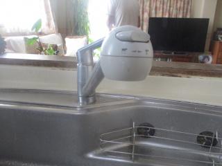 LIXIL キッチン水栓 JF-AF442SYX-JW 施工前