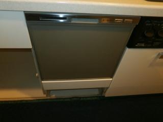 パナソニック 食器洗い乾燥機 NP-45MS9S 施工前